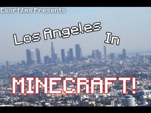 Minecraft - South Central Los Angeles!
