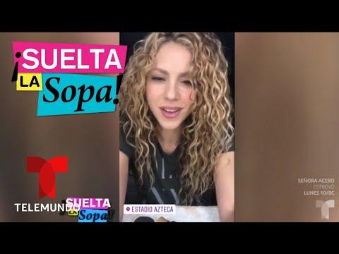 Shakira llora antes de su primer concierto en México | Suelta La Sopa | Entretenimiento