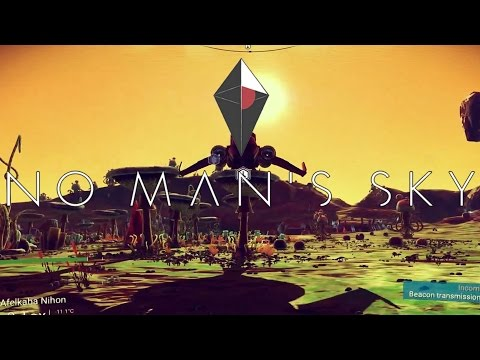 Data Plays - No Man's Sky - Live Stream 1 - Trading Depot