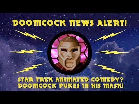 DOOMCOCK NEWS ALERT: NEW STAR TREK ANIMATED COMEDY!