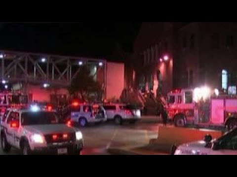 High-speed train crashes into parked train in Philadelphia