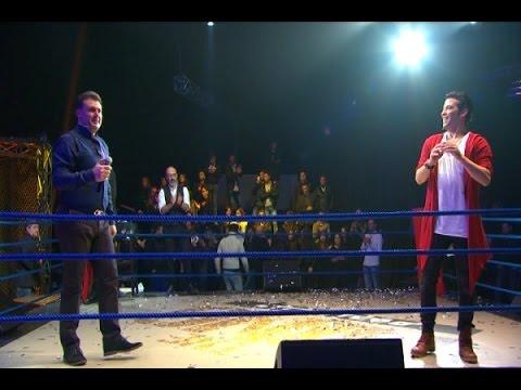 The ring - حرب النجوم - حلقة ربيع الاسمر و سعد الصغير