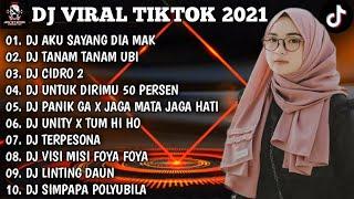 Download DJ AKU SAYANG DIA MAK X TANAM TANAM UBI REMIX VIRAL TIKTOK 2021 FULL BASS | FULL ALBUM
