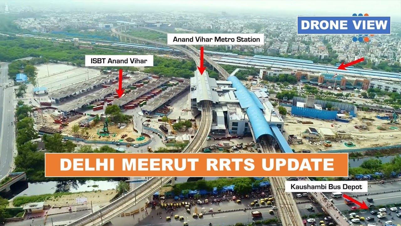 NCRTC    Delhi Meerut RRTS Corridor Update    Rapid Rail Project in Delhi NCR    Papa Construction