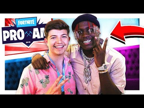 I PLAYED FORTNITE WITH LIL YACHTY! E3 Celebrity Pro Am w/ Ninja, Muselk, Lachlan