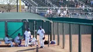 2010 Chicago Cubs Spring Training - Esmailin Caridad