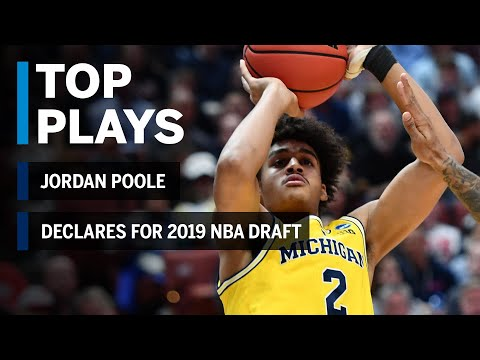 Highlights: Jordan Poole Declares for 2019 NBA Draft | Michigan | B1G Basketball