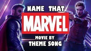 Can you guess the MARVEL movie by THEME SONG?