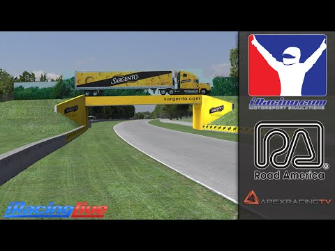 iRacing: 2016 Formula 1 Road America Grand Prix Race (S1W1)