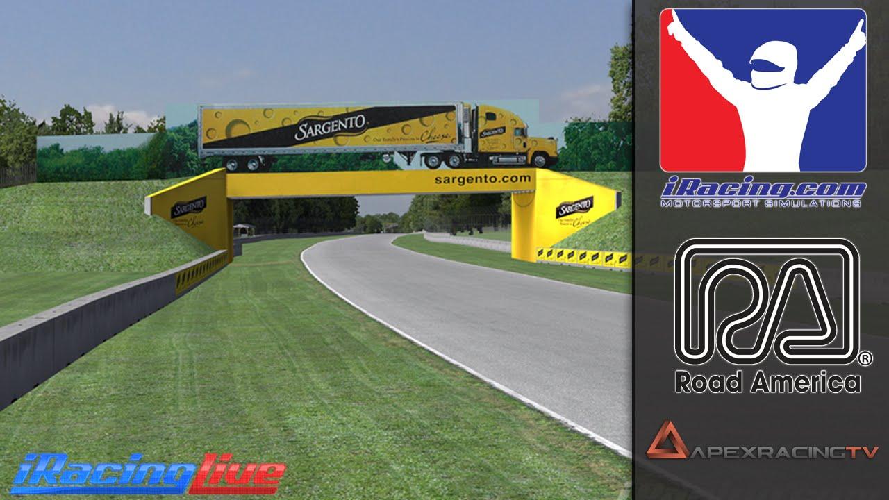 iRacing: 2016 Formula 1 Road America Grand Prix Race (S1W1)