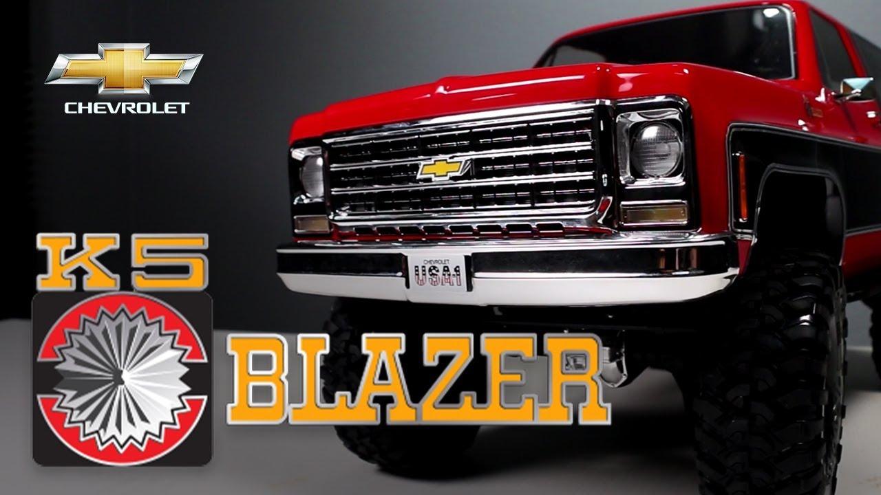 What's New: Traxxas TRX-4 Truck w/ 1979 Chevy K5 Blazer ...