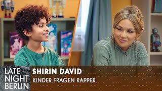 Shirin David, was ist ein Bubble Butt? | Kinder fragen Rapper | Late Night Berlin | ProSieben