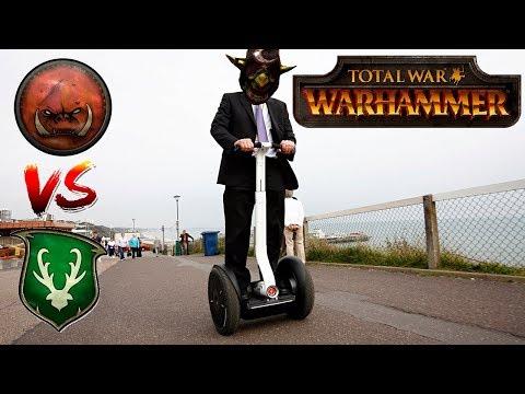 Goblins vs Wood Elves - GOLDEN GOBLINS | Total War Warhammer Community Cast #23