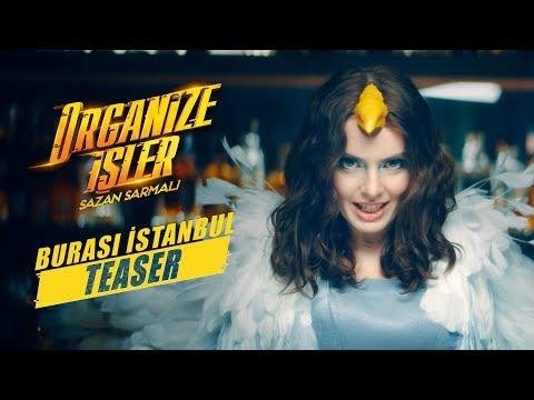 Organize İşler Sazan Sarmalı   Nil Karaibrahimgil - Burası İstanbul (Klip Ön İzleme)