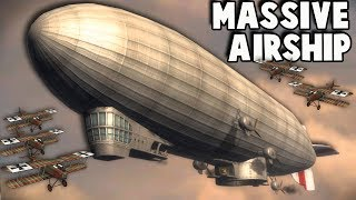 Crazy German AIRSHIP INVASION! (Toy Soldiers Gameplay Part 3 - Zeppelin Battle)