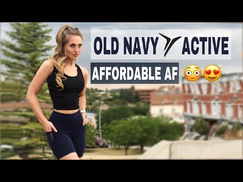 Old Navy Activewear // In-Depth Review, Try On