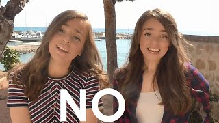 NO - Meghan Trainor COVER !! - Twin Melody