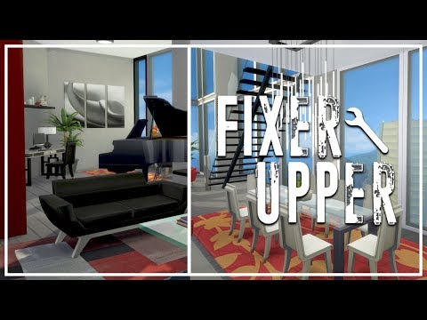 LUXURIOUS APARTMENT // The Sims 4: Fixer Upper - Home Renovation
