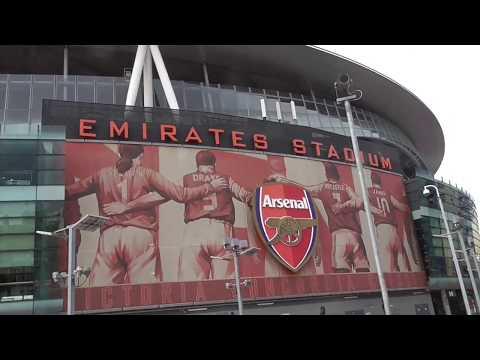 Visit to the  Emirates Stadium, London, UK 25 July 2017