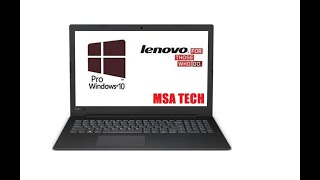 فتح صندوق ومراجعة Lenovo V145 Laptop