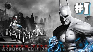 Batman Arkham City Armored Edition Wii U - (1080p) Part 1
