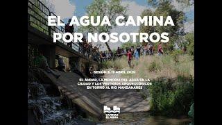 El Agua camina por nosotros: el andar, los arroyos de Madrid y el ocio a orillas del Manzanares