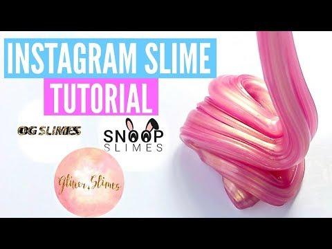 FAMOUS INSTAGRAM SLIME Recipes & Tutorials // How To Make Snoop Slimes, Glitter.Slimes Slimes & MORE
