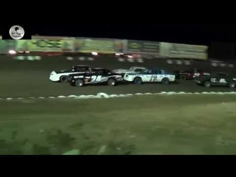 Canyon Speedway Park- Pure Stock Main Nov 8th 2014
