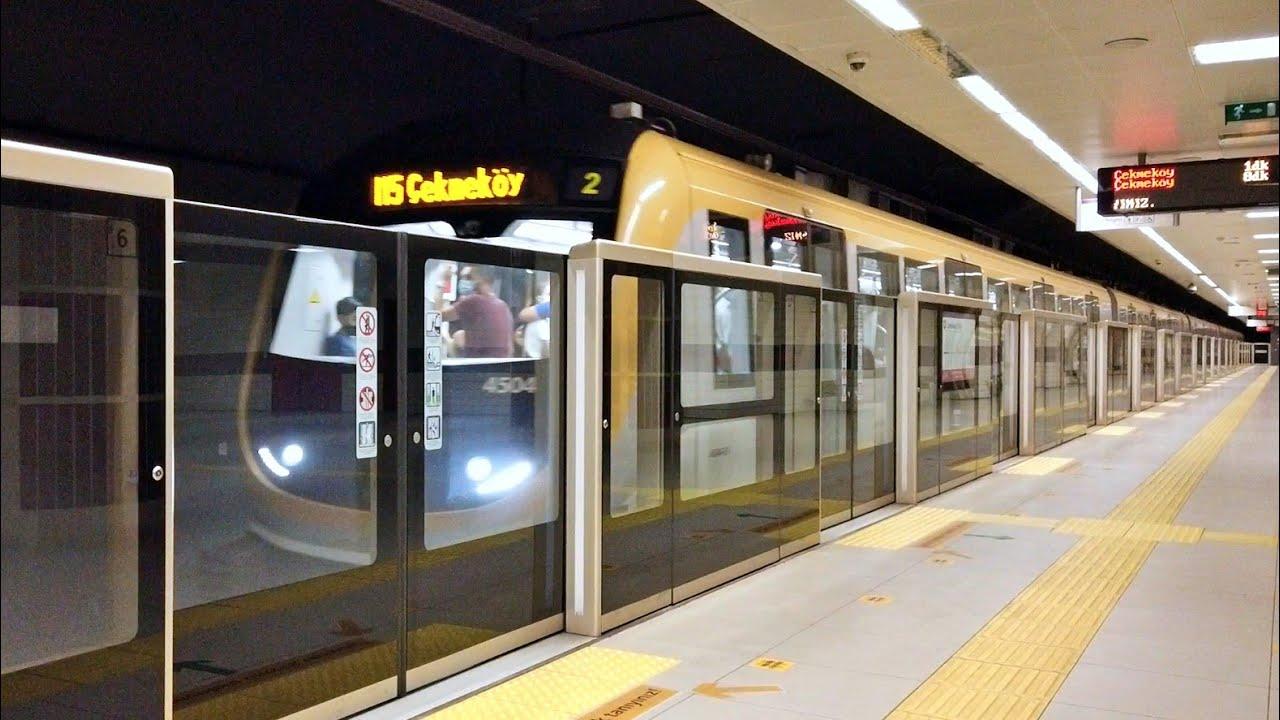 Metro İstanbul (M5) Dudullu İstasyonu [Sürücüsüz Metro]