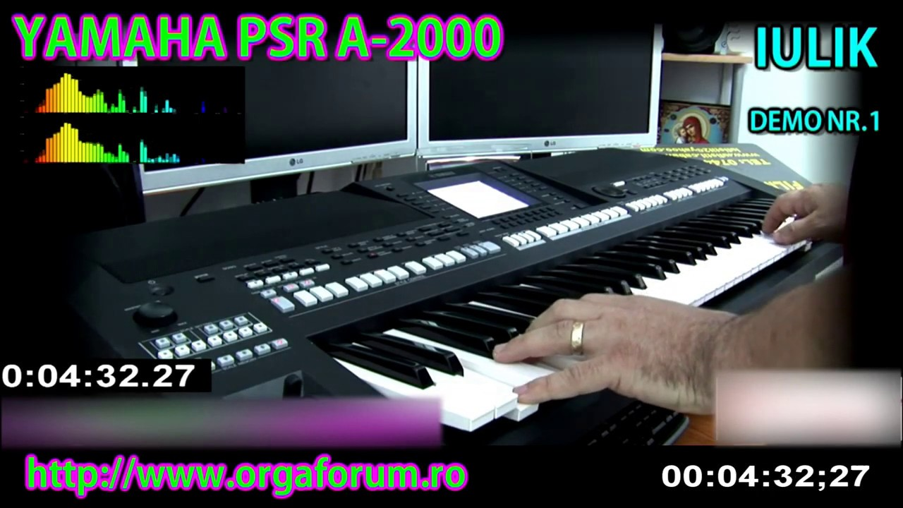 demo sound factory yamaha psr a 2000 part 1 unofficial. Black Bedroom Furniture Sets. Home Design Ideas