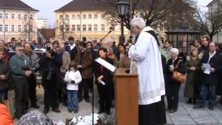 Bauernwallfahrt Altötting 14.03.09: Segnung der Tiere und Kräuter