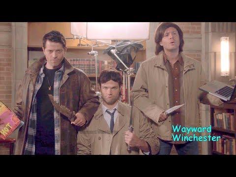 Supernatural Season 8 - 14 GAG REEL Supercut | Funny Supernatural Bloopers