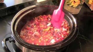 Chicken & Rice Crock-Pot Recipe : Rice Recipes