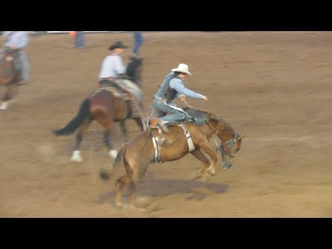 Saddle Broncs - 2018 Will Rogers Range Riders Rodeo - Thursday