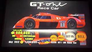 Gran Turismo 3 A-Spec Prize Car By, GT-ONE Race Car (TS020)