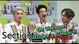 [Section TV] 섹션 TV - SHINee's back! 샤이니 콘서트, 뜨거운 현장으로! 20150517