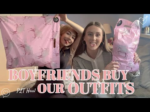 BOYFRIENDS BUY OUR OUTFITS - PLT HAUL || MELODY AND AMY