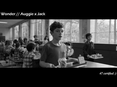 Wonder edit ; auggie x jack :)