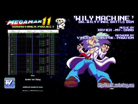 WILY MACHINE -- MEGA MAN 11 soundtrack project