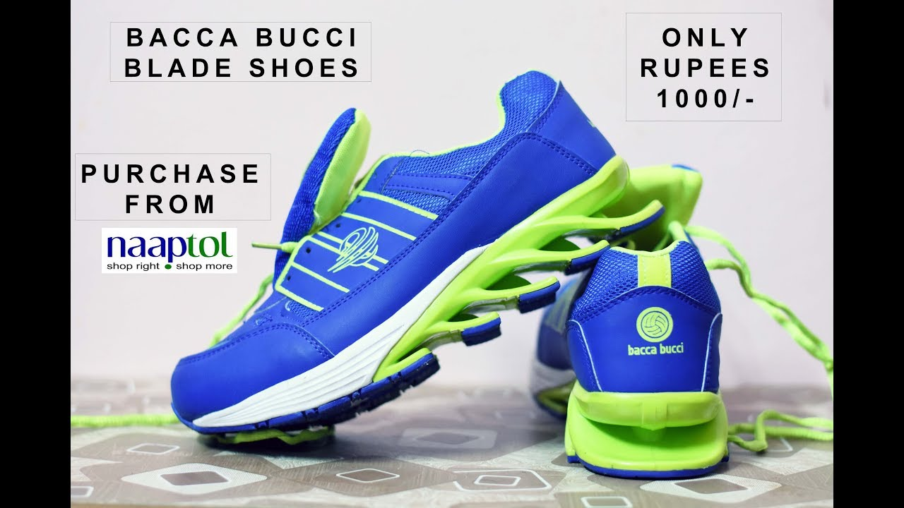 bacca bucci blade shoes ! reviews - YouTube
