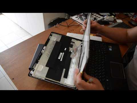 Замена матрицы ноутбука Lenovo G580 (20150)