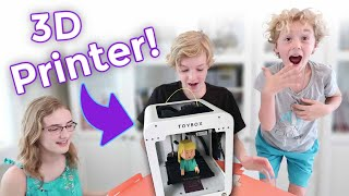 We bought a 3D Printer & Made Our Own Toys!!!