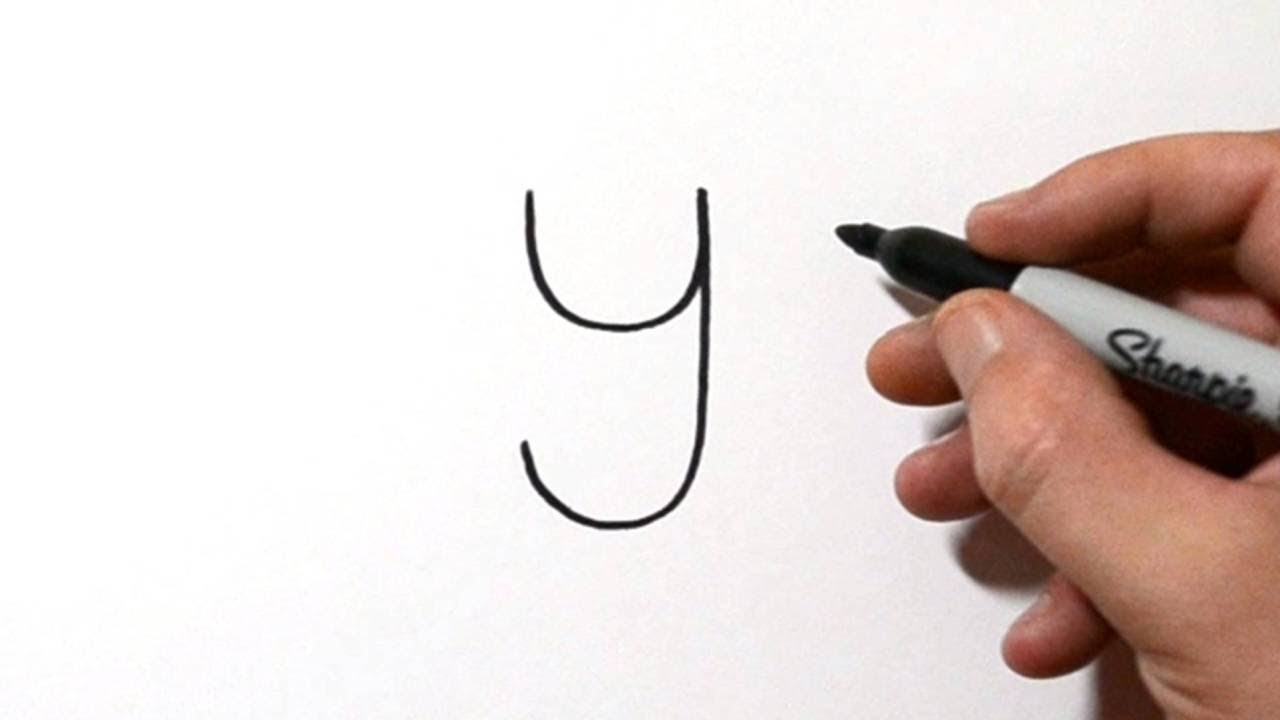 Draw A Koala Bear Using The Letter Y