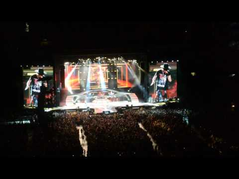 Night Train – Guns N Roses at Heinz Field 7-12-16  – Not in This Lifetime Tour
