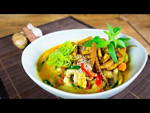 Schnelles Thai Curry vegan   Der Bio Koch
