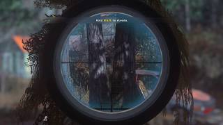 Call Of Duty Modern Warfare Remastered : All Ghillied Up Sniper Mission Gameplay (Veteran)