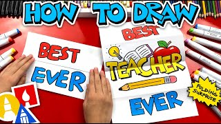 How To Draw Tнe Best Teacher Ever Folding Surprise