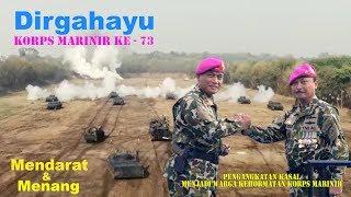 Download Video HUT KORPS MARINIR 73, Warnai Pengangkatan KASAL  Sebagai Warga Kehormatan Korps Marinir. MP3 3GP MP4