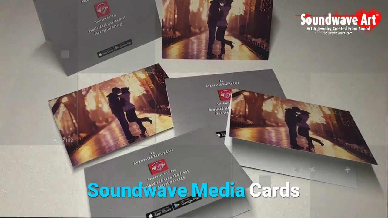 Soundwave Media Cards An Interactive Greeting Card Youtube