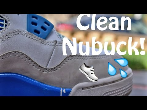 How To Clean Nubuck On Sneakers!